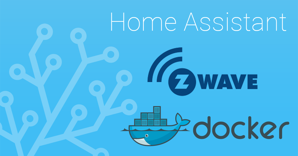 Home Assistant, Z-Wave, Docker
