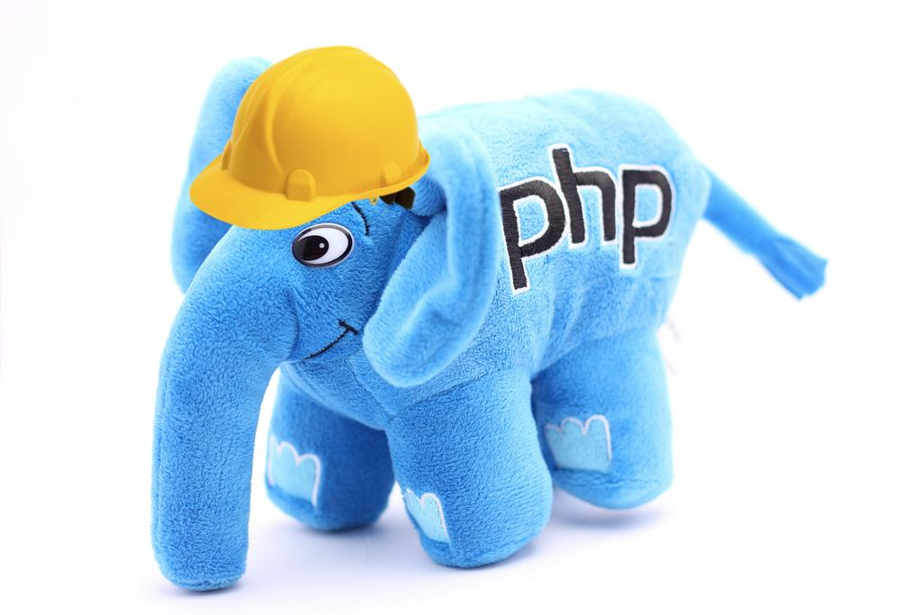 Elephpant with hard hat